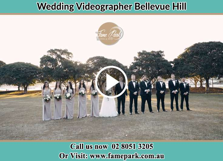 Bride and Groom with the secondary sponsors Bellevue Hill NSW 2023