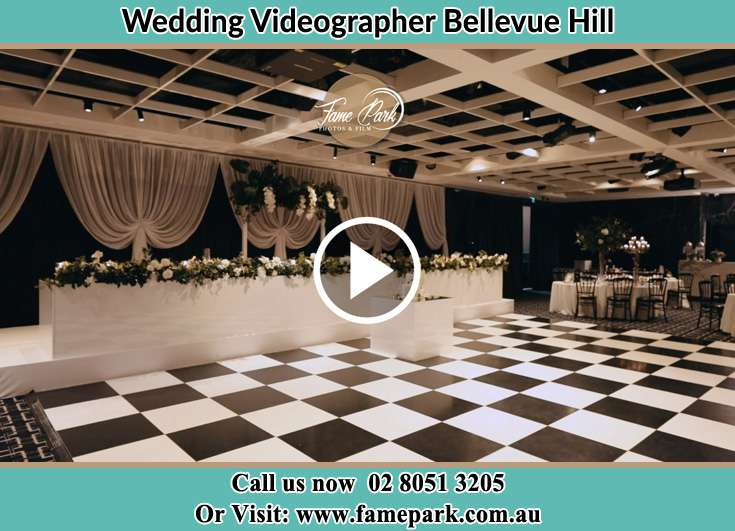 The reception Bellevue Hill NSW 2023