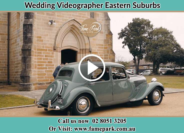Bridal Car Arrive The Church Eastern Suburbs