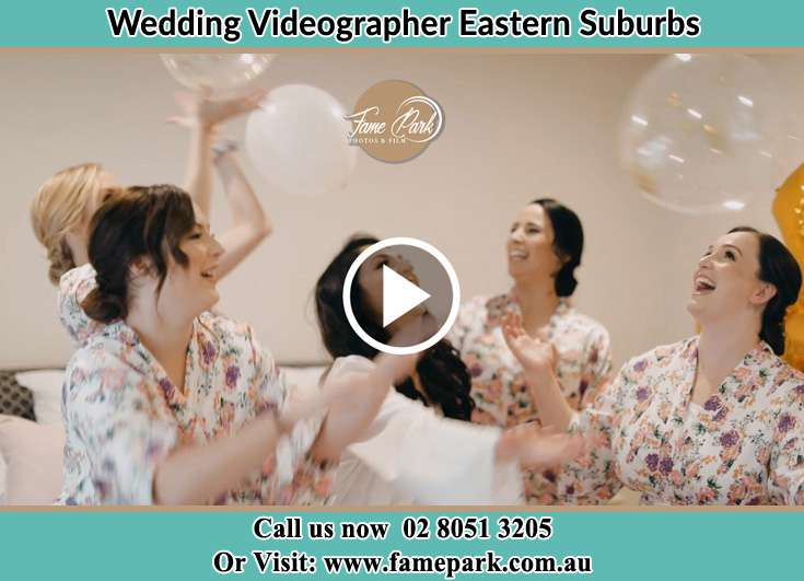 Wedding Cinematographer Eastern Suburbs