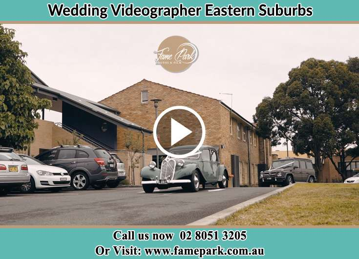 Bridal Car On the Go Eastern Suburbs