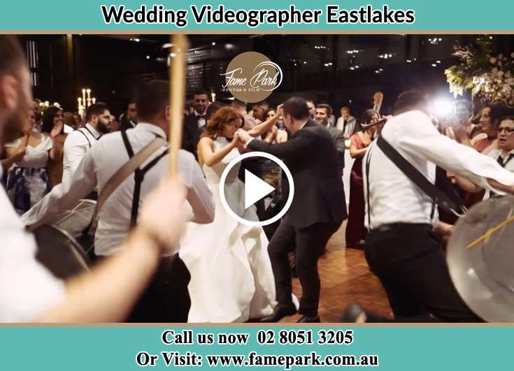 Bride and Groom at the dance floor Eastlakes NSW 2018
