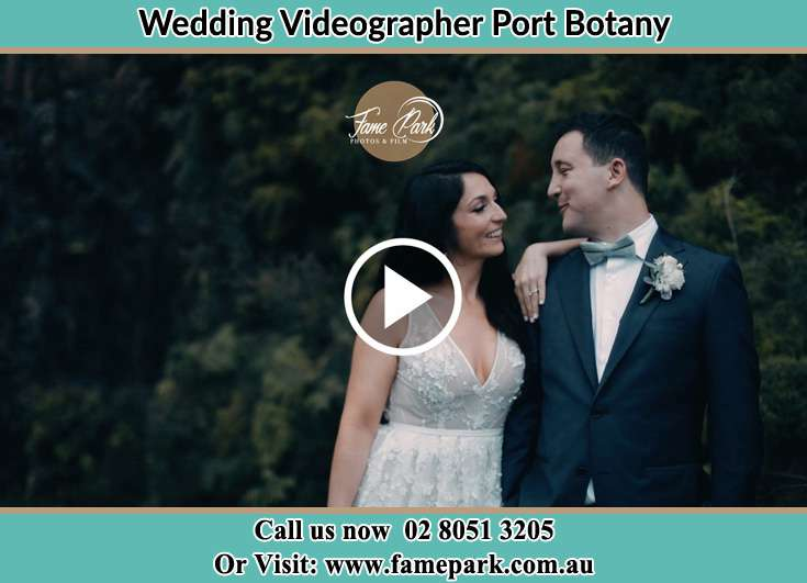 The Groom and the Bride looks at each other Port Botany NSW 2036